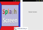 Android Tutorial on SplashScreen