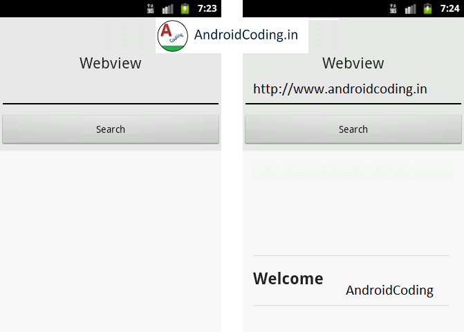 Android Tutorial on Webview for Beginners