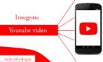 Android play youtube video   how to play video in app