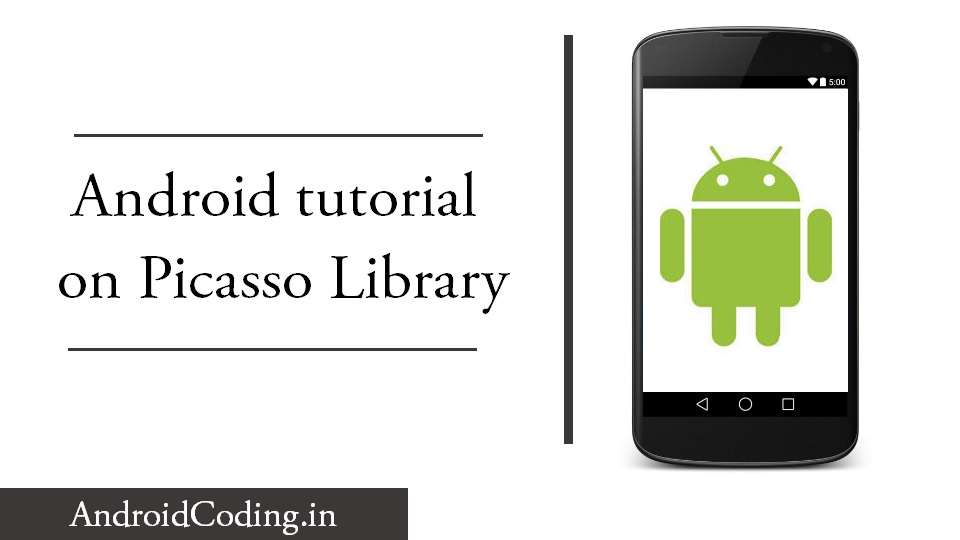 Android tutorial on Picasso library || Load image using Picasso