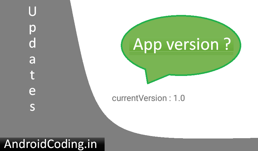 Know your android app version || app version