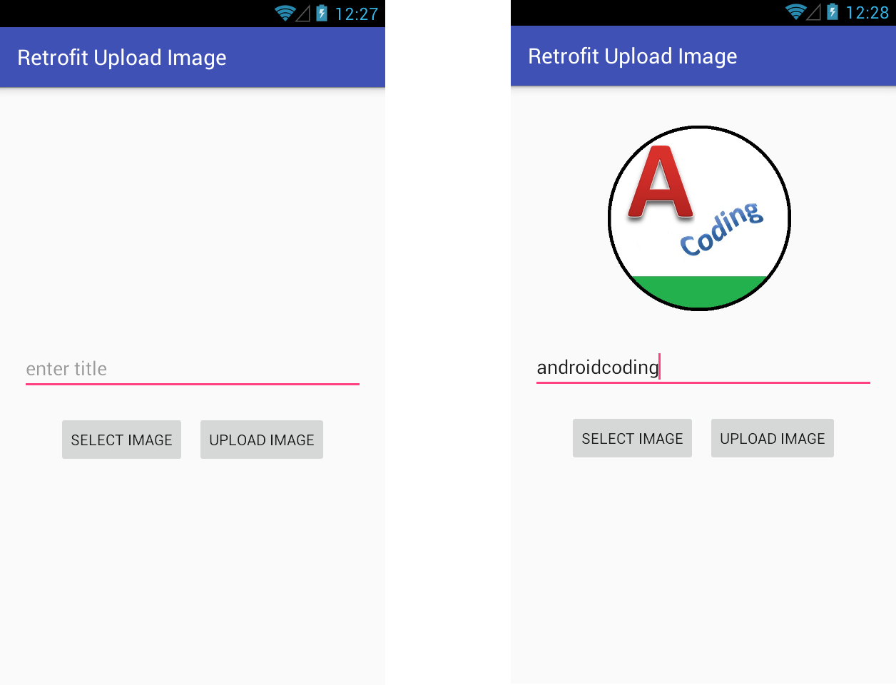 Android Upload Image Using Retrofit Library Part 2