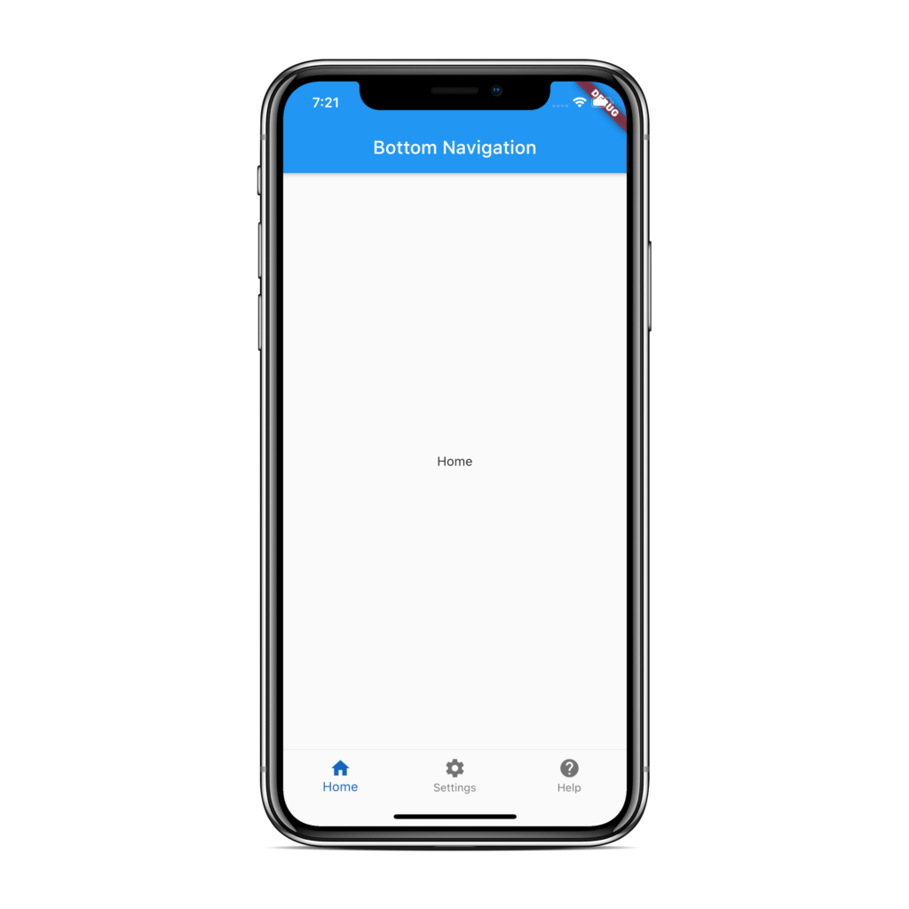 Flutter Bottom Navigation View - AndroidCoding.in