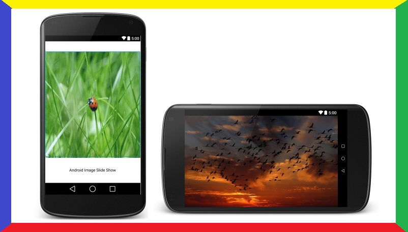 Android Tutorial on Image SlideShow