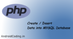 Inserting values into MYSQL using PHP