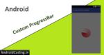 Android Custom ProgressBar || Material ProgressBar