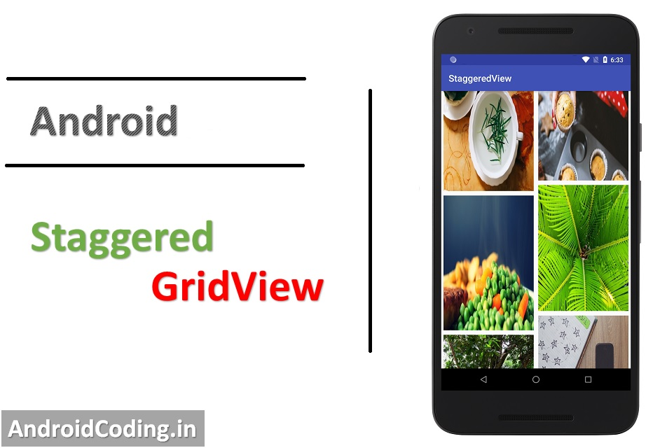 Android Staggered GridView Tutorial || Staggered Grid Example